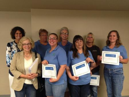 Home Care Aides Honored